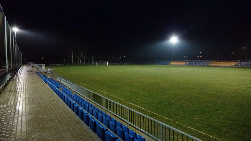 Oświetlenie Stadionu Na Mikołajki łódzki Futbol